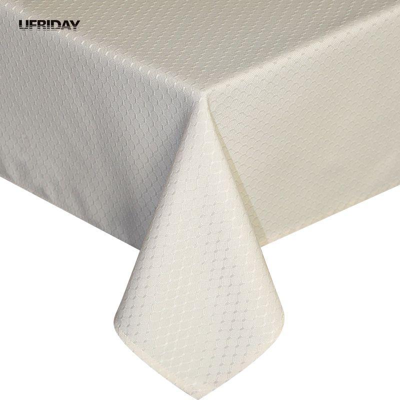 다이어트 테이블에 대 한 UFRIDAY 베이지 색 보라색 테이블 천으로 사각형 식탁보 내구성 두꺼운 테이블 커버 방수 Oilproof Tafelkleed