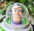 Бесплатная доставка История Игрушек 30 см Базз Лайтер плюшевые игрушки Новый Год подарок juguetes Шляпу можно снять