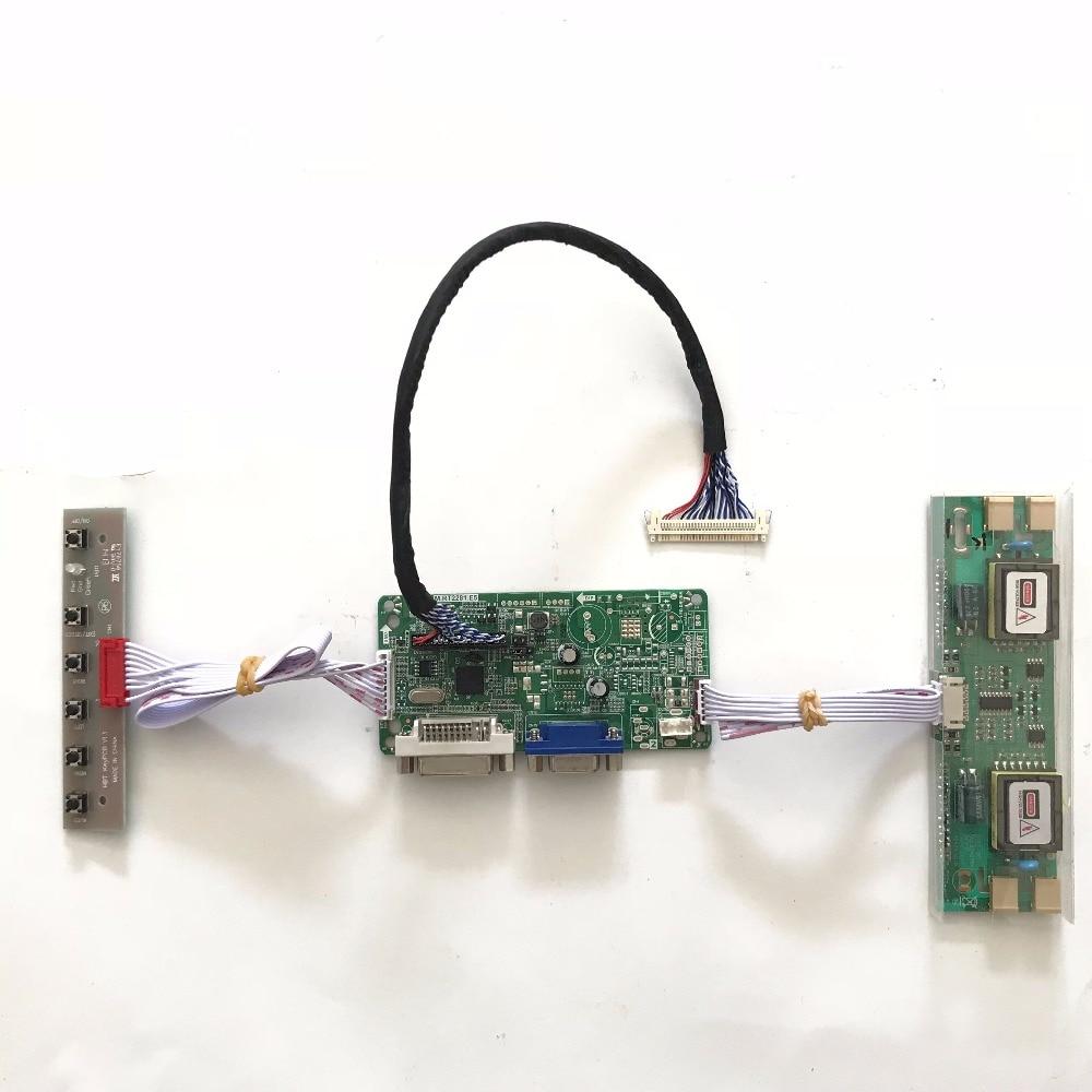 все цены на  RT2281 Universal DVI VGA LCD Controller Board for 22 inch 1680x1050 M220EW01 V0 4CCFL LVDS Monitor Kit Easy DIY  онлайн