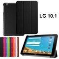 """Для 2015 LG G PAD 2 V940 10.1 """"GPAD X 10.1 tablet смарт кожаный чехол Ультра тонкий аргументы за крышки G PAD 2 V940 10.1"""""""