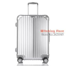 24 INCH 202429# The new aluminum box men and women universal wheel luggage bag direct sales #EC FREE SHIPPING