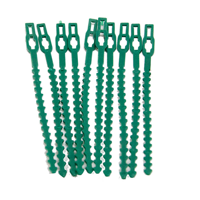 50pcs Adjustable Plastic Plant Cable Ties Gardening tools for Garden Tree Climbing Support Plant Vine Tomato Stem Clips