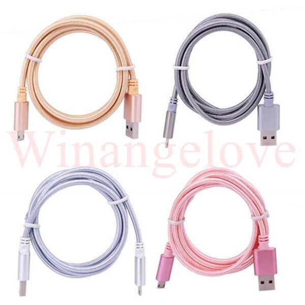 USB 1 m קלוע אלומיניום סוג C C נתונים מטען כבל אבזר חבילות עבור Nokia N1 עבור LETV 1 Tablet עבור Macbook