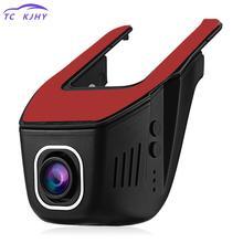 170 градусов 1080 P 1200 Вт Пиксели мини регистраторы Автомобильный видеорегистратор Wi-Fi Скрытая вождения Регистраторы Автомобильный видеорегистратор Антирадары Зеркало заднего вида Камера
