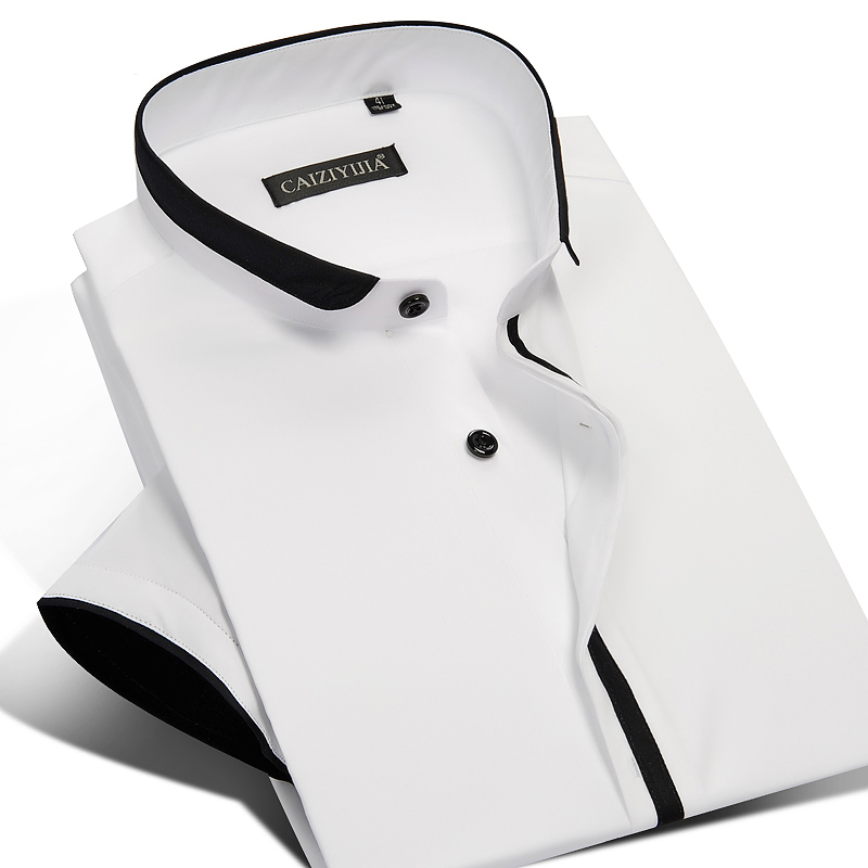 Compare Prices on Mens Mandarin Collar Shirts- Online Shopping/Buy ...
