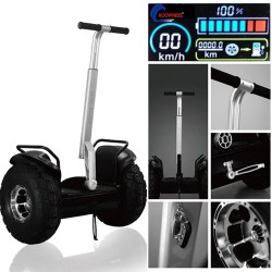 19inch two-Wheel Self balancing scooter transporter Vehicle Off road Motocross Air Hoveroard Skateboard Koowheel Big Wheel