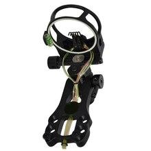 """Extreme Tactical Sight Vista Arco Arco Compuesto tiro con arco con Mirilla y Luz 5-Pin 0.019 """"Herramienta de Micro Ajuste"""