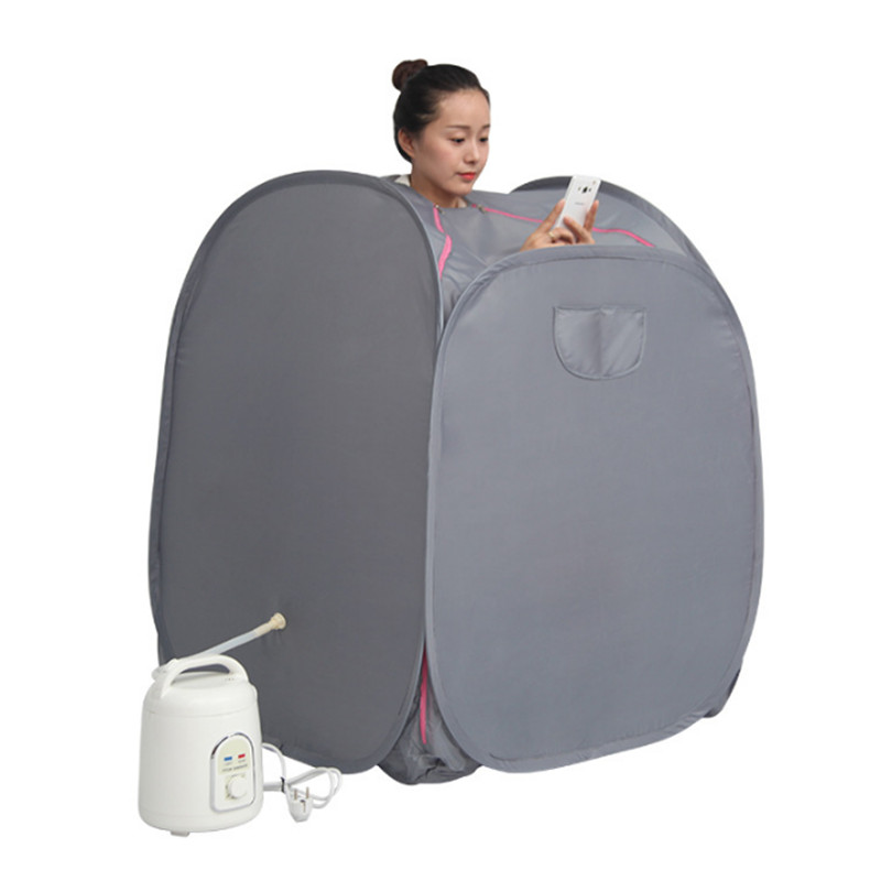 Steam Sauna with steamer khan weight loss Beneficial skin Home Sauna Rooms bath SPA with sauna bag