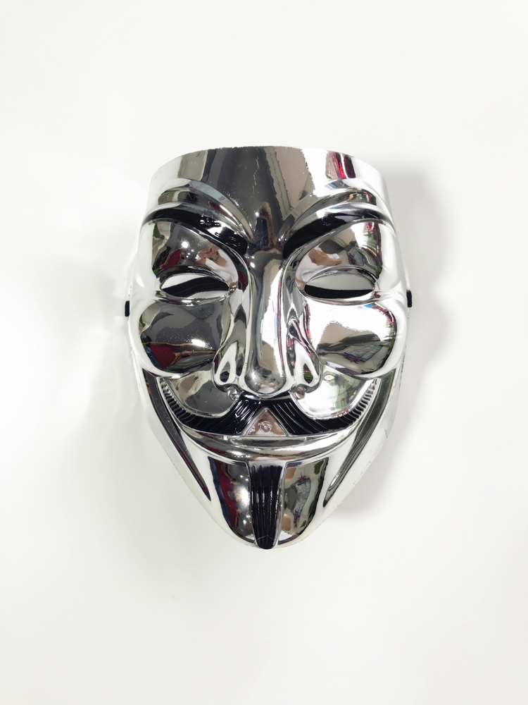 V Vendetta party Cosplay mask Guy Fawkes macka Halloween special plating color V word kill killer mask ghost dance hip hop