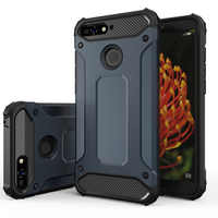 Cover Case for Huawei Y6 2018 Case Huawei Y6 2018 Y6 2019 Heavy Duty Armor Bumper Shockproof Tough Silicone Phone Case