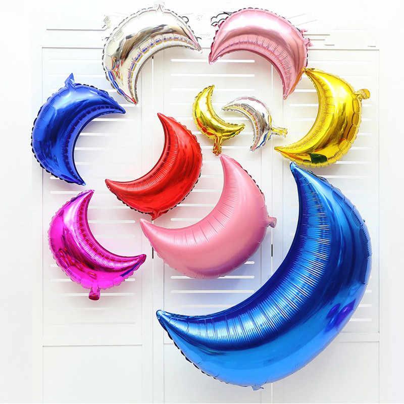 18 дюймов душа ребенка мальчик вечерние шар звезда из фольги розового и голубого цвета в форме сердца гелиевые воздушный шар одежда для свадьбы, дня рождения украшение шар