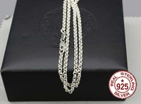 925 Pure Silver Necklace Punk Chain Men S Neck Chain Without Pendant Tram