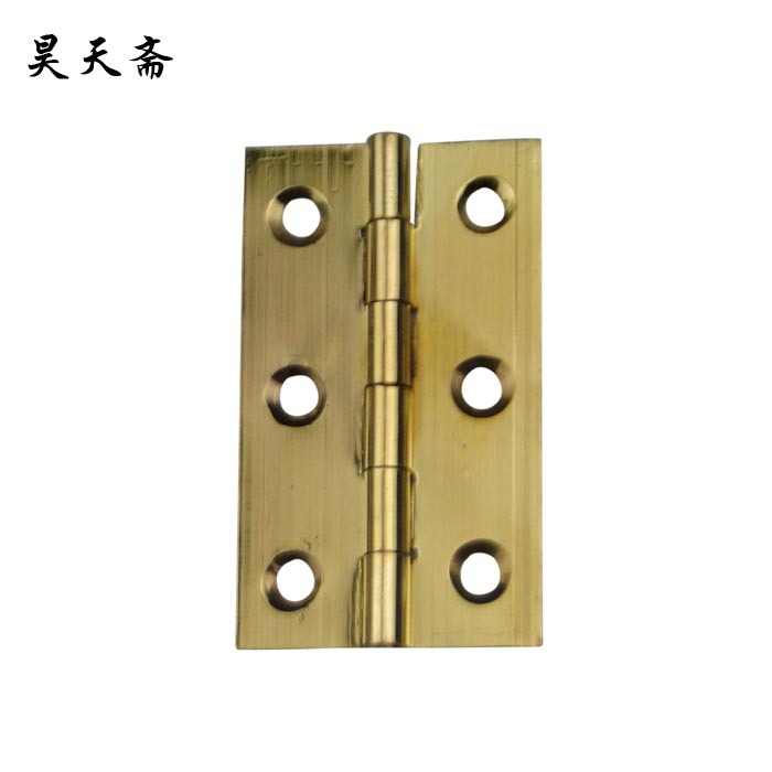 Ev Dekorasyonu'ten Kapı Menteşeleri'de [Haotian vejetaryen] bakır menteşe (menteşe) Çin antika coincide sayfa HTF 147 trompet kalın bölüm title=
