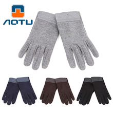 NEW 2019 Outdoor Thickening autumn and winte keep warm fleece gloves phones can tentacles set of men 3color цена и фото
