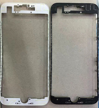 10pcs/lot Front Bezel Chassis Frame with hot glue Replacement For iPhone 7 7G 4.7″ LCD Middle Holder Housing Parts Black White