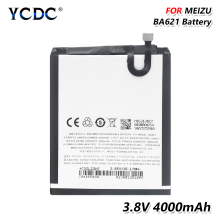 2019 Lithium Lithium Replacement BA621 BA-621 BA 621 Phone Battery For Meizu M5 Note Note 5 3.85V 4000mAh все цены