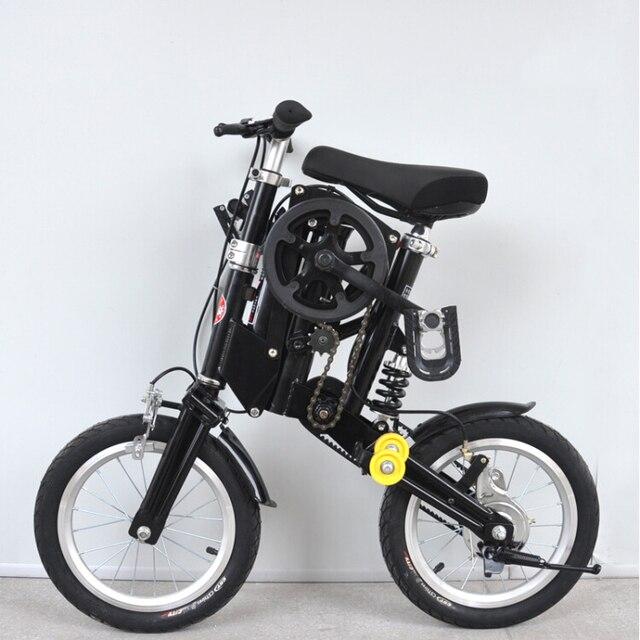 12'' inch Multi Shape Mini Folding Bike 5