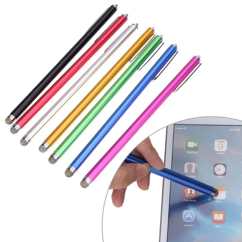 High Quality Micro-Fiber Mini Metal Capacitive Touch Pen Stylus Screen For Phone Tablet Laptop/ Capacitive Touch Screen Devices