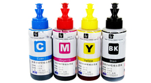 Dye ink 4 color Refill Ink Kit 70ml for Epson T6641 T6642 T6643 T6644
