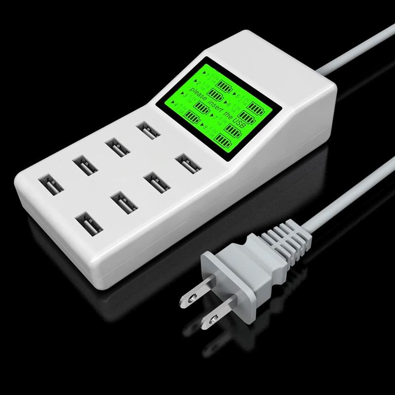 Leebote 8 Ports USB Charger 40W Multi Port USB Power Adapter - Ανταλλακτικά και αξεσουάρ κινητών τηλεφώνων - Φωτογραφία 6