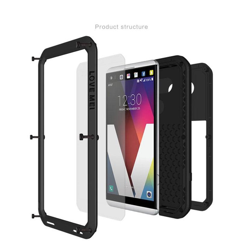 Για LG V20 5.7 INCH Original LOVE MEI Αλουμίνιο - Ανταλλακτικά και αξεσουάρ κινητών τηλεφώνων - Φωτογραφία 5