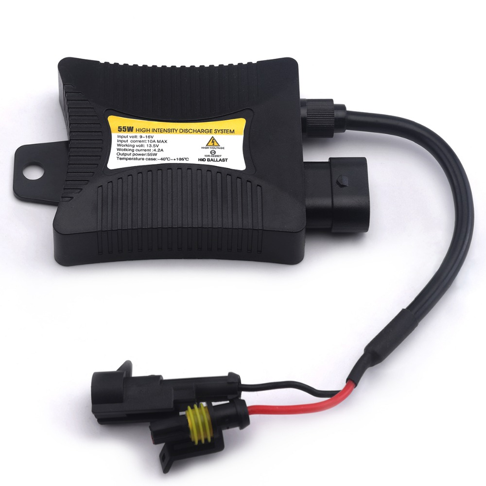 55w ballast xenon hid for car light source electronic hid ballast blocks ignitor for H4 H7 H3 H1 H11 9005 9006 slim ballast 12v