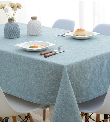 Online Shop Cotton And Linen Solid Color Table Cloth Cloth Table Cloth IKEA  Coffee Table Cloth Rectangular Table Simple Modern   Aliexpress Mobile