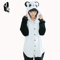 Panda Onesie Adult Pajamas Anime Pyjamas For Adults Women Unisex Flannel Hoodie Pajamas Costume Cosplay Animal