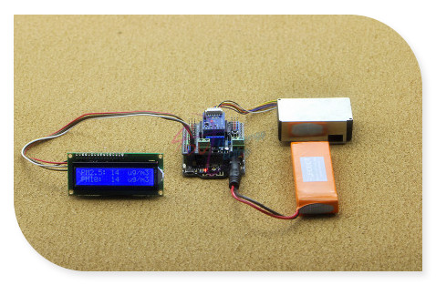 DFRoBot High Precision PM2.5 digital universal particle density Sensor Module with Sensor adapter V1.0 - Laser Sensing