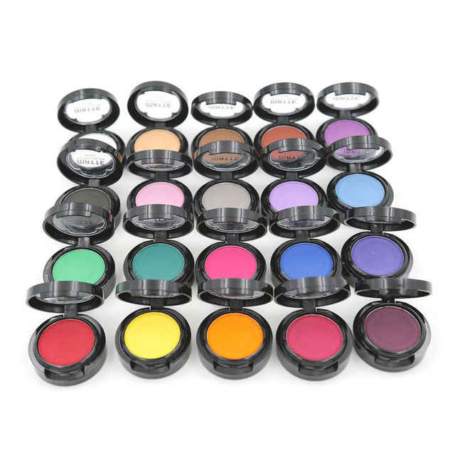 Single Eye Shadow Matte 1pcs Eyes Makeup Matte Eyeshadow Suite Shade