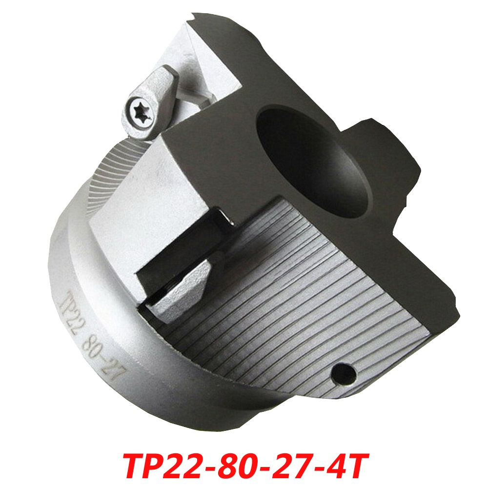Free Shipping TP22-80-27-4T High Feedrate And Right Angle Shoulder Face Milling Cutter For HITACHI Insert TPMN2204 газонокосилка hitachi cg40eya tp