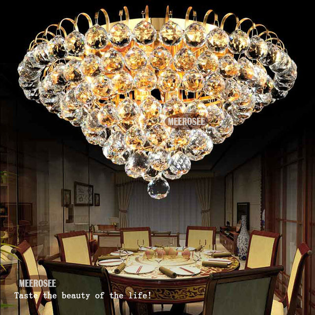 Diamond Design Crystal Ceiling Light Fixture Modern Lustre Crystal Light  Fitting Home Deco Cristal Lamp With