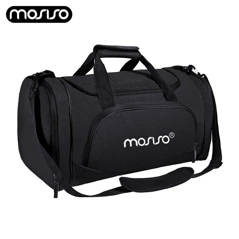 MOSISO Waterproof Travel Bag Large Capacity Men Hand Luggage Duffle Bags Gym Sports Weekend Durable Women
