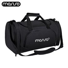 купить MOSISO Waterproof Travel Bag Large Capacity Men Hand Luggage Travel Duffle Bags Gym Sports Weekend Bags Durable Women Travel Bag онлайн