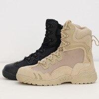 Tactical Combat Outdoor Sport Army Men Boots Desert Botas Hiking Autumn Shoes Travel