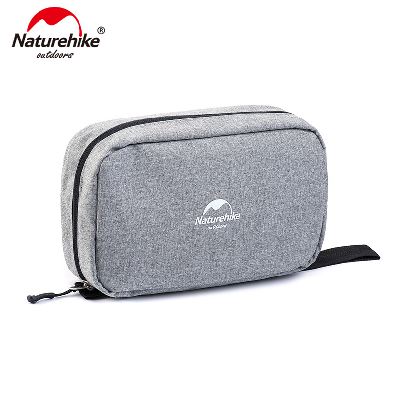 NatureHike Wash Bag Travel Cosmetic Bag Men Bags Large Women Make Up Set Waterproof Wash Bag NH15X001-S