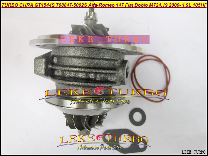 TURBO Cartridge CHRA Core GT1444S 708847-5002S 708847-0002 708847 For Alfa-Romeo 147 For Fiat Doblo Bravo 2000- M724 1.9L JTD
