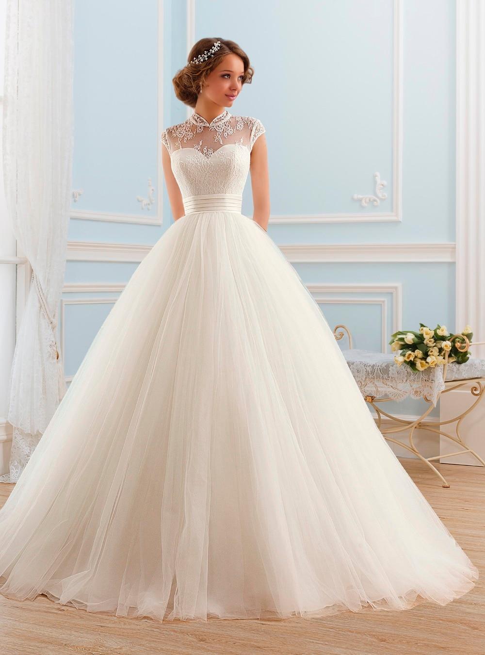 Online get cheap short tulle wedding dress for Short wedding dresses online