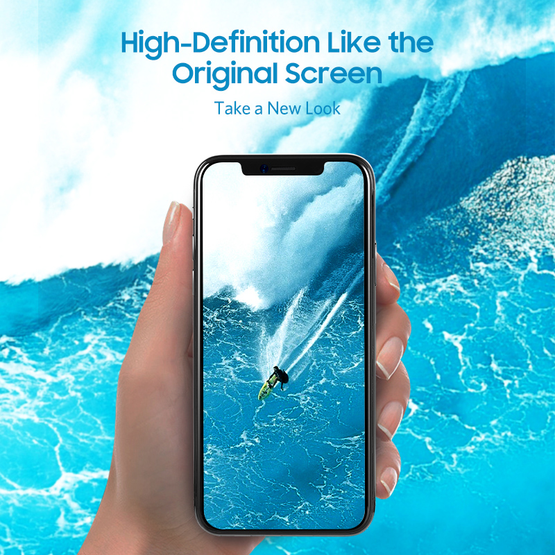 Benks HD Anti Blue Ray Narrow Edge Tempered Glass For iPhone X XS XR XS MAX Full Protection Film For iPhone XS MAX Front Screen