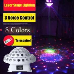 KTV Disco światło dźwięk sterowania kolor lampa LED światła etapie stroboskop Bar Laser do Disco DMX projektor laserowy DJ oświetlenie imprezowe
