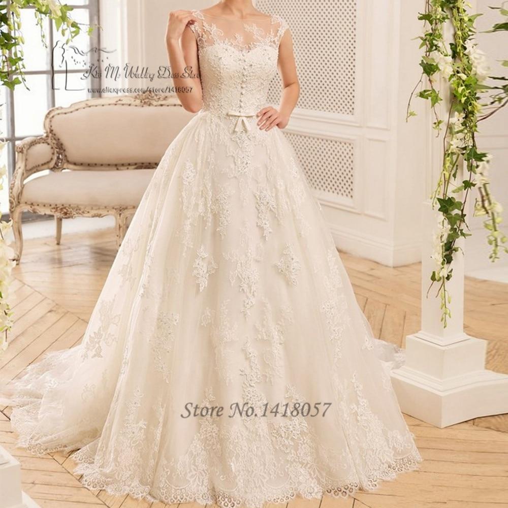 Vintage Wedding Dresses Michigan: Vintage Ivory Boho Wedding Dress Lace Vestidos De Noivas