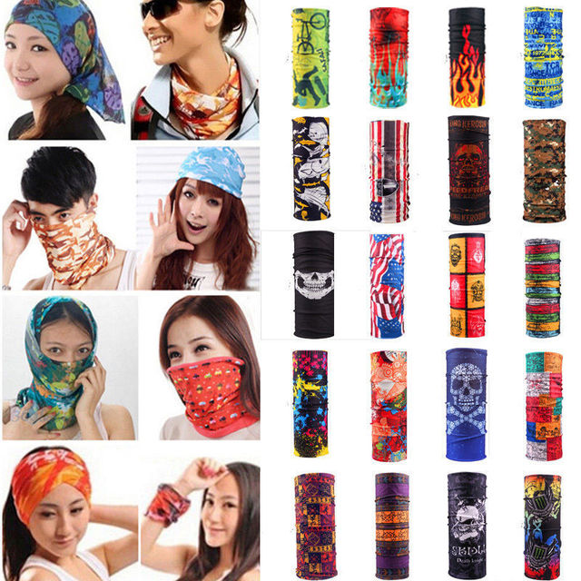2017 Outwear Multi Colors Tube Scarf Bandana Head Face Mask Neck Gaiter  Snood Headwear Beanie 0bce034546b