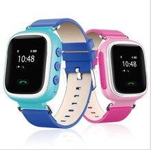 Kinder Smart gps Uhr Armbanduhr GSM GPRS GPS Locator Tracker Anti-verlorene Smartwatch Kind Schutz unterstützung iOS Android