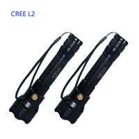 1800LM CREE L2 LED Lantern Waterproof FlashLights 500 M underwater scuba Dive Flashlight 10W USB Dive Torch light lamp for divin