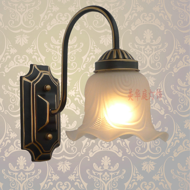 ФОТО A1 Special offer European style wall lamp mirror lamp bedside lamp TV wall  Home Furnishing Mediterranean GardenB1-007