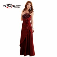 2015 Limited Robe Vestido Summer Style Plus Long Section Of The Hotel Banquet Party Dress Wedding