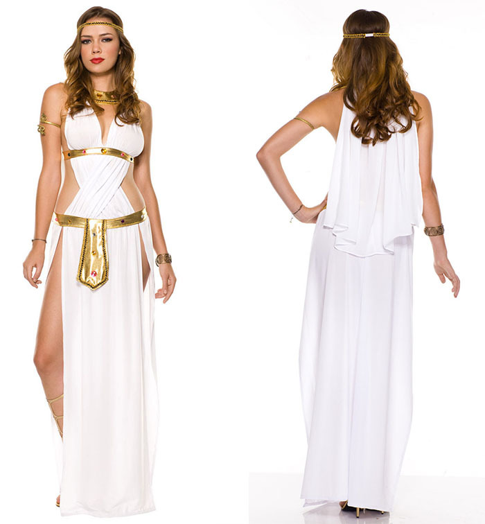 Adult Fancy Dress For Women Goddess Venus Costumes Halloween Cleopatra  Cosplay Sexy Greek God of Love Carnival Costumes CC0123-in Anime Costumes  from ... ee77955a67