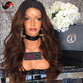 24' #1bt33 180 Density Ombre Brazilian Hair Wig Lace Front Human Hair Wigs With Baby Hair Brazilian Full Lace Wig With Baby Hair