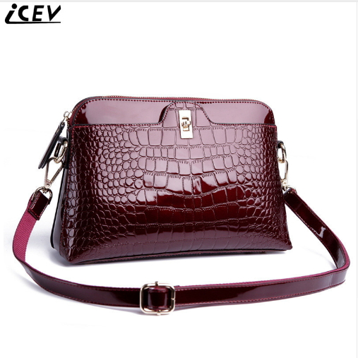 ICEV New Fashion Crossbody Bags for Women Messenger Bags Luxury Handbag Designer Handbags Women Leather Handbags Bolsa Feminina new luxury handbags women bags designer trapezoid caviar split leather fashion vintage crossbody bags for women bolsa feminina