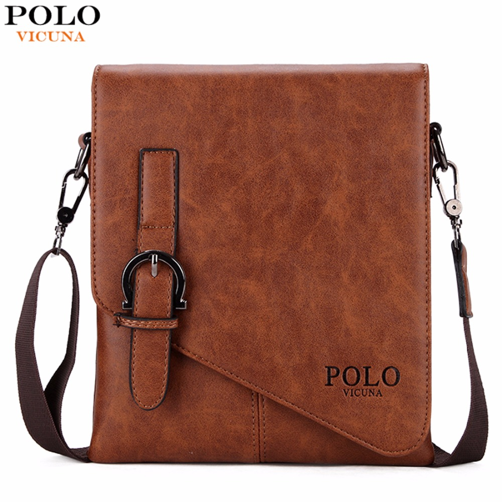 52407bf9b9de vicuna polo unique buckle design irregular cover open mens messenger bag 2  sizes business men crossbody bag leather man bag hot